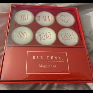 "Rae Dunn: ""Love"" Glass Dome Magnets"
